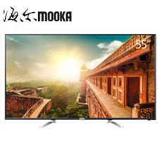 23日0点: MOOKA 模卡 LS55A系列 55英寸 4K 液晶电视 1599元包邮