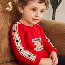 京东商城 CLASSIC TEDDY 精典泰迪 儿童卫衣 *2件 59.9元包邮(需用券,合29.95元/