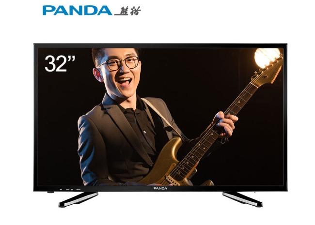 15日0点: PANDA 熊猫 32F4X 32英寸 液晶电视 549元包邮
