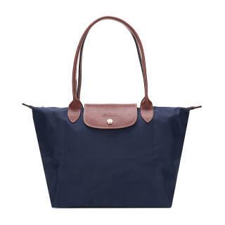 珑骧(LONGCHAMP) 女士藏蓝尼龙长柄小号购物袋 2605 089 556 *2件 1001.2元(合500.6元/件)