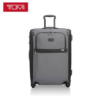 途明 TUMI ALPHA系列男士商务旅行高端时尚聚酯纤维万向轮拉杆箱022064PW2 24英寸 灰色 6679.3元
