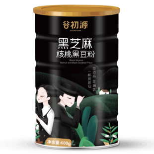 南京农业大学研制 黑芝麻糊600g 券后¥19.9