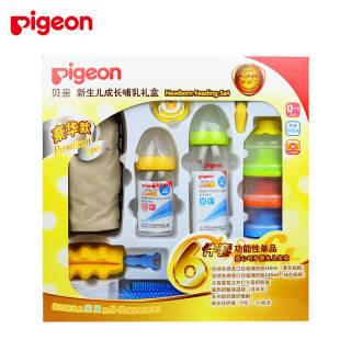 贝亲(pigeon) 新生儿成长哺乳礼盒 奶瓶礼盒装 OA07 339元