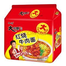 ¥7.2 今麦郎 大今野 红烧牛肉面 五连包