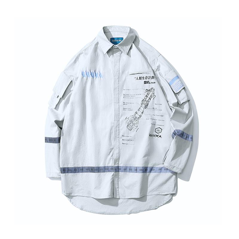 Guuka 印花工装衬衫 优惠价368元