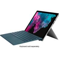 Microsoft 微软 Surface Pro 6 12.3英寸平板电脑 (i5、8GB、128GB) 659美元约¥4549
