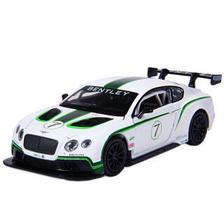 彩珀合金车模 1:32宾利GT3 赛车跑车 仿真汽车模型 宝宝儿童玩具男孩玩具汽