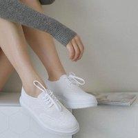 5折+免邮 高级舒适又透气 Eve By Eves 美鞋专场 高级蕾丝与运动鞋的完美结合