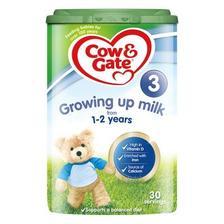 移动专享: Cow&Gate 牛栏 婴幼儿奶粉 3段 800g 89元包邮包税