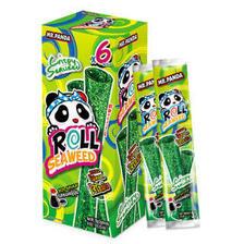 泰国进口 熊猫先生芝麻颗粒海苔紫菜卷 原味18g *2件 12.8元(合6.4元/件)