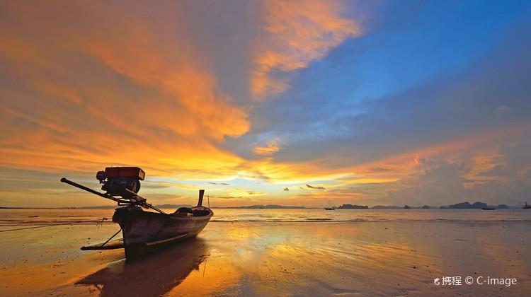 全国多地-泰国甲米6天5晚自由行 5晚连住奥南海滩 1507元起/人