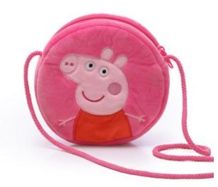 ¥9.9 小猪佩奇 斜挎零钱包 粉色/蓝色可选