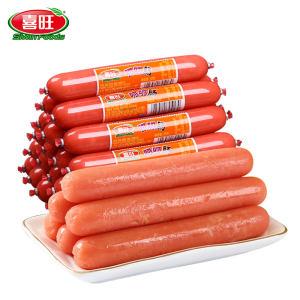 喜旺 呱呱肠 即食香肠 3kg 60根 整箱装 49元包邮 合0.78元/根