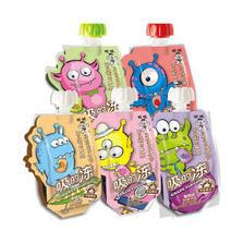 旺旺吸的冻儿童零食可以吸的果冻碎冰冰棒棒冰冷饮批发80g*10 葡 萄味 30.5元