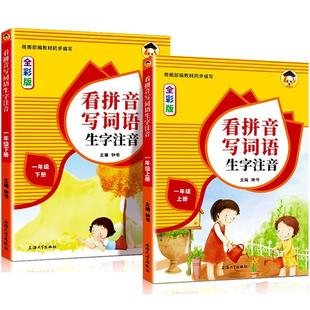 看拼音写词语生字注音一年级上下册 ¥6