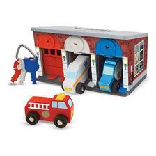 Melissa & Doug 钥匙和汽车木制救援车和车库玩具(7件)prime到手约151.25元