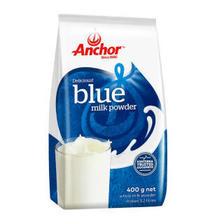 安佳(Anchor) 全脂乳粉 成人全脂奶粉 400g *5件 126元(合25.2元/件)