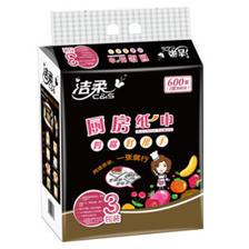 ¥83.6 洁柔(C&S)抽纸 厨房用纸 双层100抽*3包 *8件