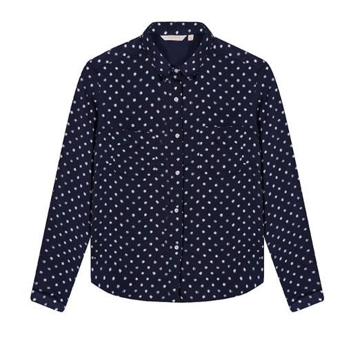 maxwin 女式印花梭织衬衫 17.9元