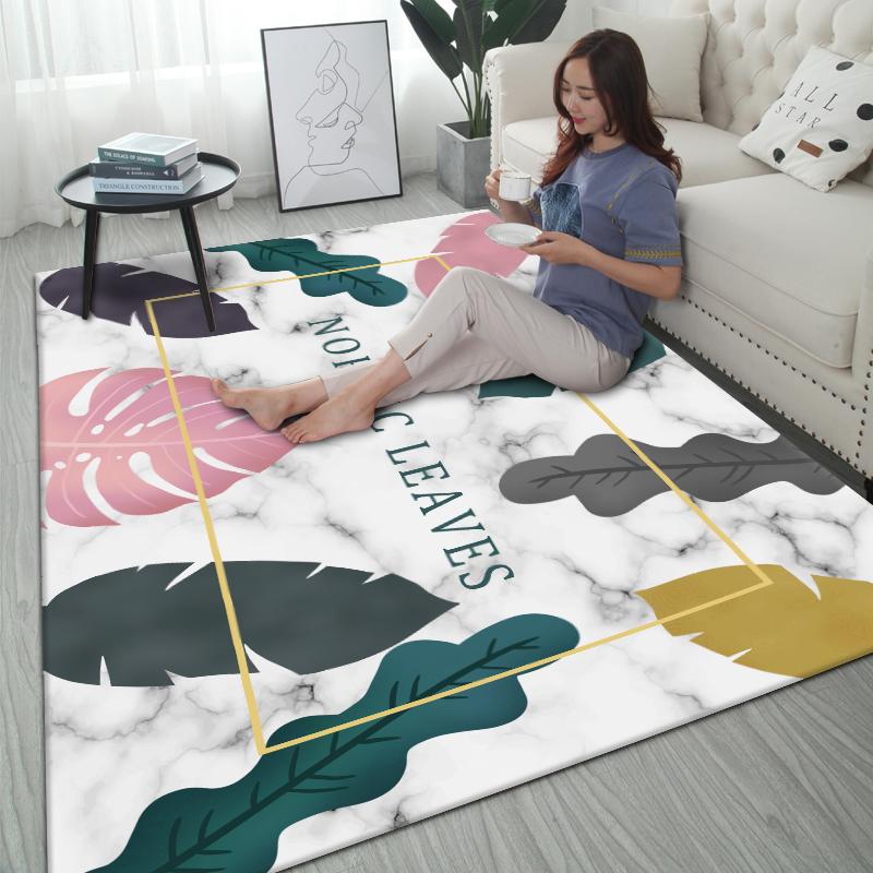 ¥6.9 扑咪 北欧地毯茶几毯 40x120cm