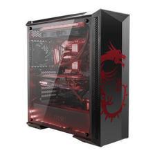 微星(MSI)MPG 氪金枪 100D 龙魂版 中塔机箱/支持E-ATX主板/黑色机箱/支持3水