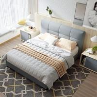 ¥3599 CHEERS 芝华仕 C018 爱蒙布艺床双人床 1.8*2m