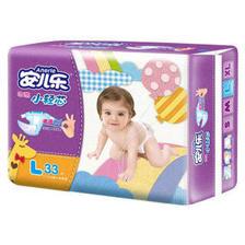 安儿乐(Anerle)薄薄小轻芯 婴儿纸尿裤 大号L33片 *7件 201.87元(合28.84元/件