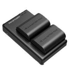 Ravpower 睿能宝 RP-BC003N 佳能 LP-E6 相机兼容电池 组合套装 144元包邮(双重优