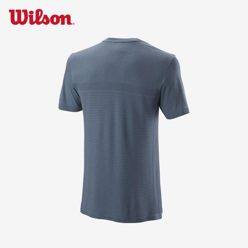威尔胜(Wilson) WRA773502 男款快干短袖网球运动T恤 266元