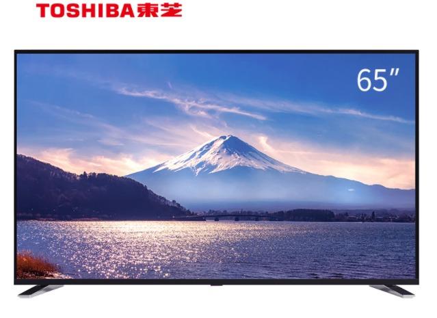 ¥3599 APP拼团价 TOSHIBA 东芝 65U5850C 65英寸 4K 液晶电视