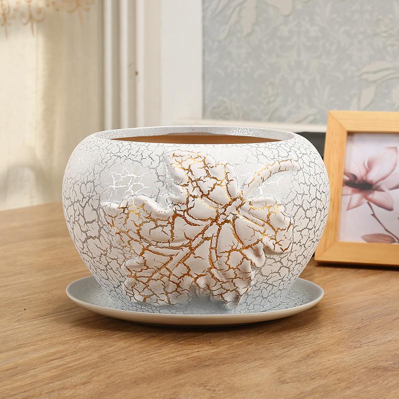 ¥5.8 成匠 创意南瓜/布袋型陶瓷花盆