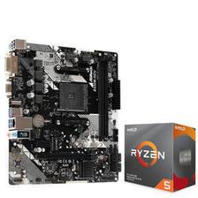 华擎(ASRock)B450M-HDV R4.0主板 AMD 锐龙 5 3600 板U套装 1820元