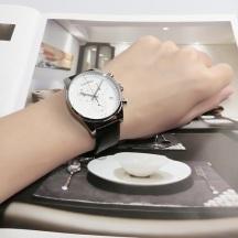 折合580.65元 Calvin Klein 卡尔文·克莱因 Steadfast 系列 银黑色男士时尚腕表
