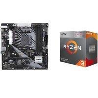 $149.99(原价$189.98)AMD RYZEN 3 3200G APU + ASRock B450M/AC 主板