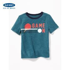 OLD NAVY 男婴幼童 字母印花短袖T恤 *3件 177元(合59元/件)