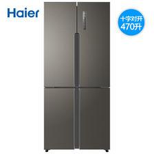 Haier 海尔 BCD-470WDPG 十字对开门冰箱 470L 4099元包邮(需用券)
