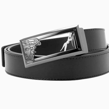 移动端: Versace Collection 男士镂空美杜莎板扣腰 336元