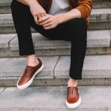 限US8码,Frye 弗莱 Ludlow Bal Oxford 男士真皮运动鞋 4.5折 直邮中国 ¥539.24