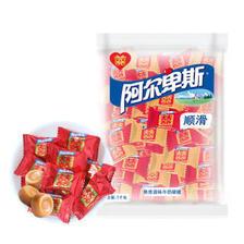 阿尔卑斯原味喜糖奶糖 散糖袋装1kg *3件 139.2元(合46.4元/件)