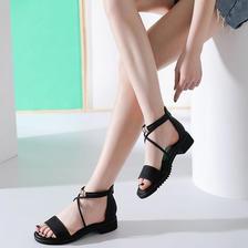 限尺码:DUSTO 大东 DW19X1412A 女士平底凉鞋 29元包邮 ¥29