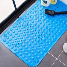 京东PLUS会员:绿之源 浴室垫防滑垫 50*80cm蓝色 *5件 79.64元(合15.93元/件)