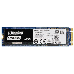 Kingston 金士顿 A1000 M.2 NVMe 固态硬盘 960GB 989元包邮