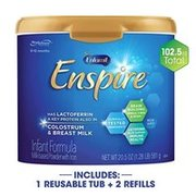 低至8折+額外9.5折+包郵 Enfamil 嬰兒配方奶粉,收Enspire 和Reguline'
