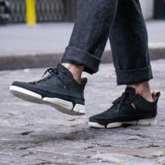 限时返利10%!【中亚Prime会员】Clarks 其乐 Trigenic Flex 经典三瓣鞋时尚运动鞋 黑色