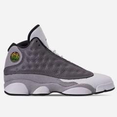 【基本码全】Air Jordan 乔丹 Retro 13 大童款篮球鞋 灰白