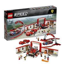 考拉海购黑卡会员: LEGO 乐高 Speed Champions 超级赛车系列 75889 赛车法拉利体