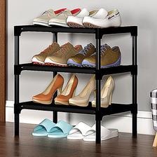 简易多功能经济型防尘置物架鞋架 券后6.9元