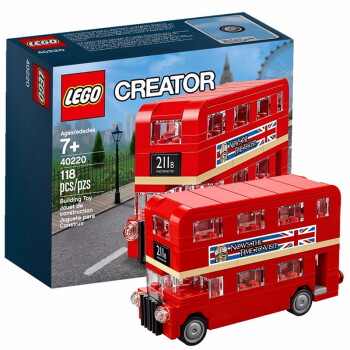 LEGO 乐高 Creator系列 40220 伦敦巴士 65元包邮