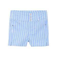 Meters bonwe 美特斯邦威 251874 女士高腰弹力短裤 8.8元包邮