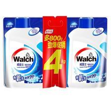 ¥26.59 walch/威露士 有氧倍净洗衣液 4kg袋组合装